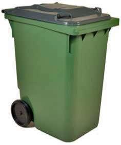 бак мусорный на колесах