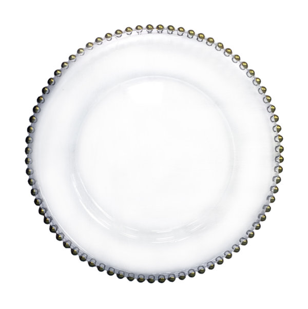 тарелка бусы