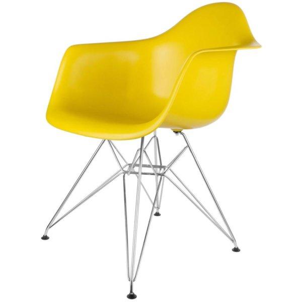 """Стул """"Eames"""" желтый"""
