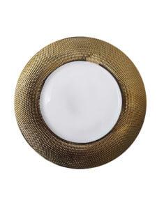 Тарелка золото Тенерифе