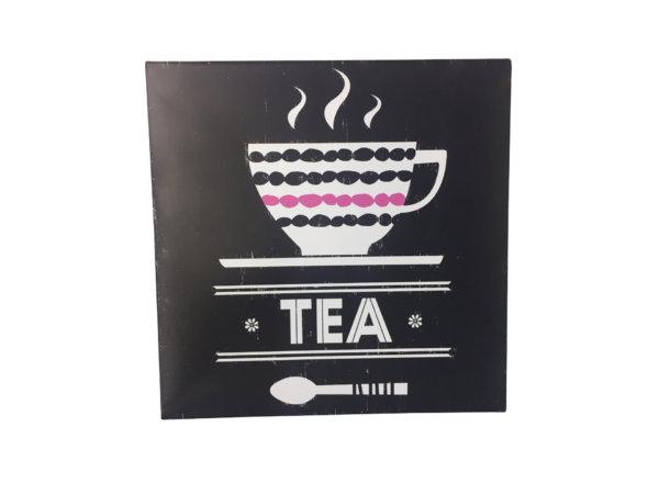 Табличка чай
