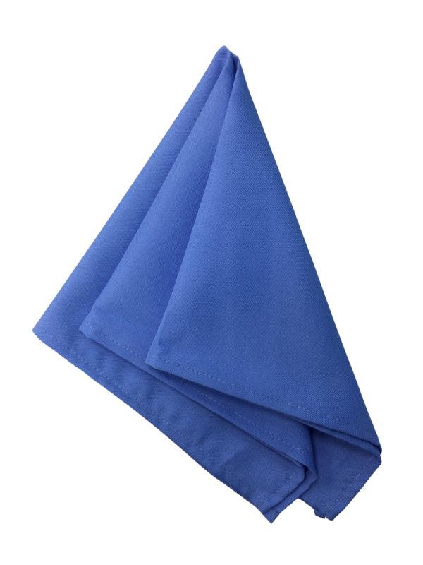 салфетка голубая