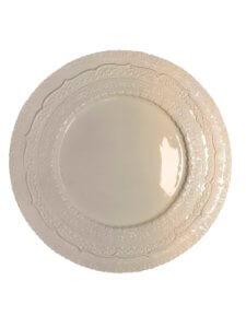 кремовая тарелка