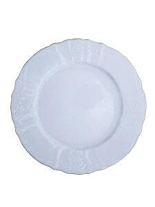 тарелка фарфор с золотой каймой