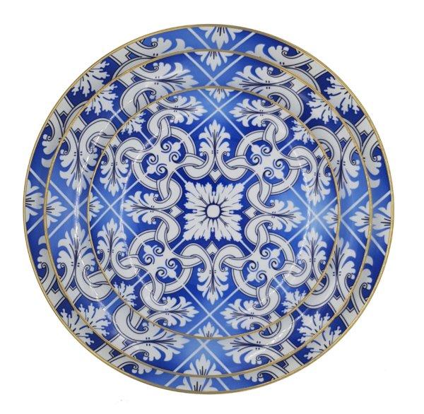 набор тарелок атлантида