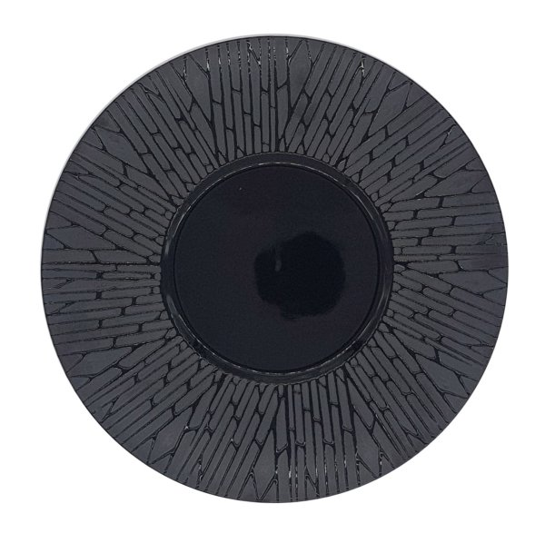 тарелка черная джевел