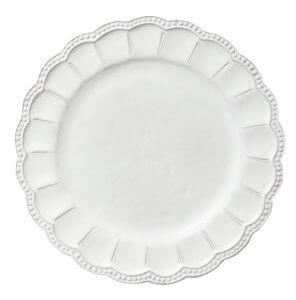 тарелка белая фарфор