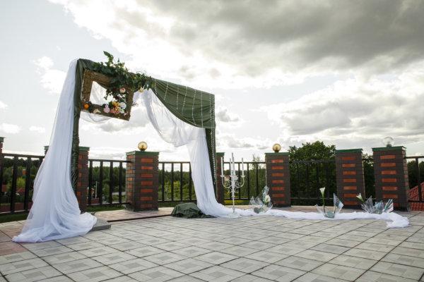 рамка ворота для свадьбы