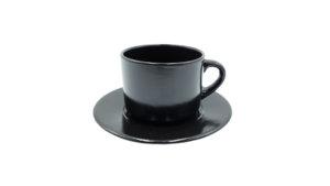 чайная пара черная