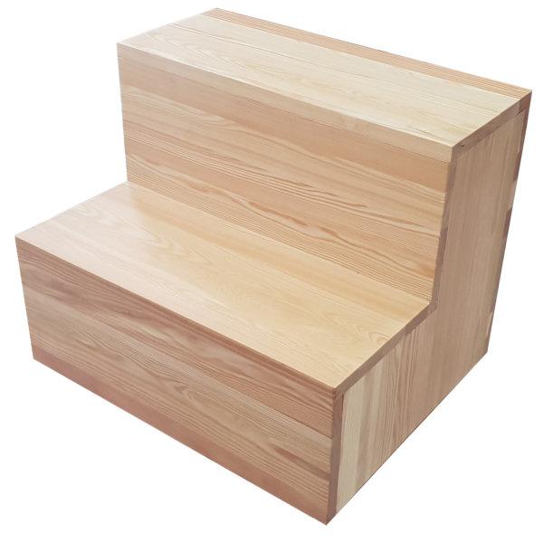 Уровень деревянный 2 ступени