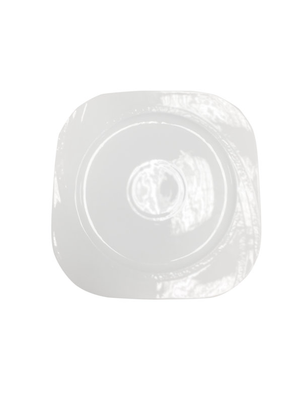 тарелка квадратная фарфор