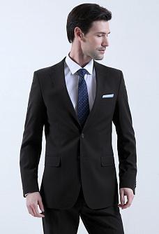костюм мужской черный
