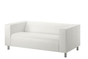 диван белый