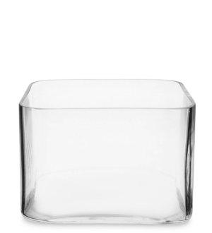 ваза квадратная стекло