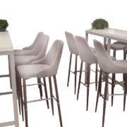 стол прямоугольный белый