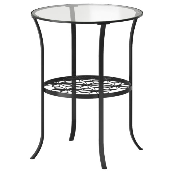 стол металл и стекло