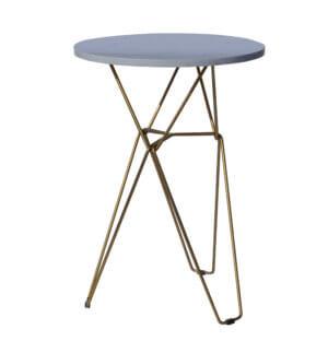 Коктейльный стол медь мрамор