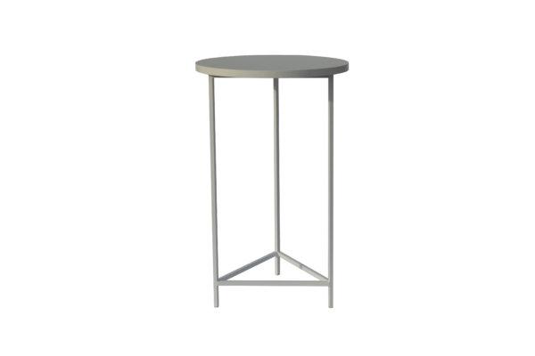 стол высокий белый