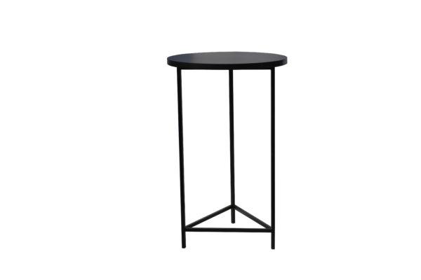 стол высокий черный