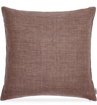 подушка серо-коричневая