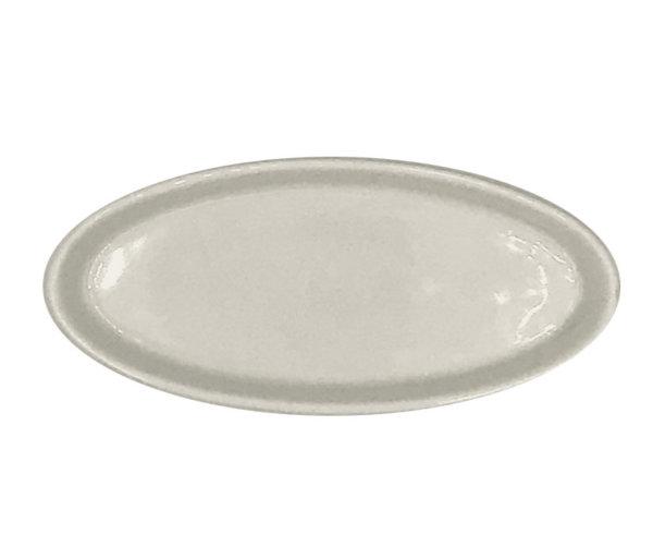 соусник овал фарфор белый
